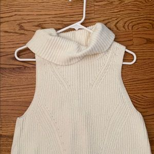 Anthropologie Sleeveless sweater tunic